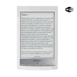 Czytnik ebooków PRS-T1 biały + Pokrowiec PRS-ASC10 biały + Uniwersalna ładowarka USB 2A...