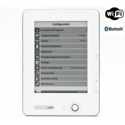 Czytnik e-booków PocketBook 612 biały + Karta pamięci MicroSD 2 GB + adapter...