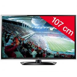 Telewizor LED 42LS5600 + Listwa zakrywająca kable STILE Line Cover Double + Pozłacany 24-karatowy kabel HDMI-1,5 m - SWV3432S/10...