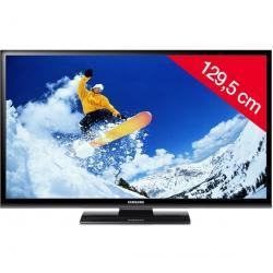 Telewizor plazmowy PS51E450A1WXBT + Listwa zakrywająca kable STILE Line Cover Double + Uchwyt ścienny STILE S800 czarny + Pozłac...