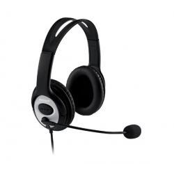 Słuchawki-mikrofon Life Chat LX-3000 + Hub USB 4 porty BL-USB2HUB2B...