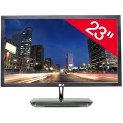 "E2381VR-BN monitor LED 23"" Full HD + Kabel HDMI 1.4 męski / HMDI męski - 2 m (MC380-2M)..."