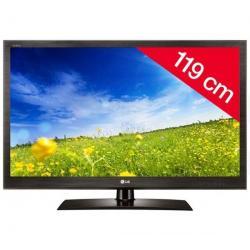 Telewizor LED 47LV3550 + Pozłacany 24-karatowy kabel HDMI-1,5 m - SWV3432S/10...