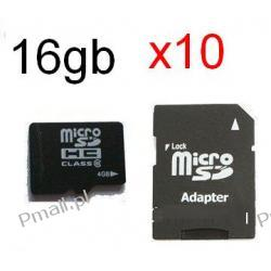 Karta 16GB MICRO SDHC 16gb + ADAPTER SD - x10