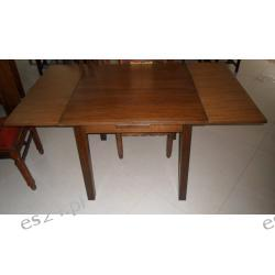 Stół dębowy kwadratowy z Holandii