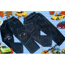 Spodnie bojówki jeans z PORSCHE 122(6-7)
