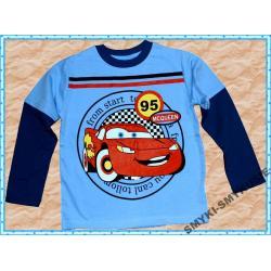 CARS AUTO bluzka bawełna 110(5l)NOWOŚĆ 2012