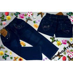 *PROMOCJA*spodnie jeans hafty 86(18M)