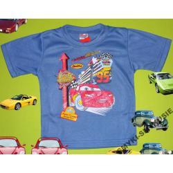 CARS AUTA koszulka dla Chłopca 86CM(18M)GRANAT