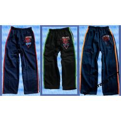 SPIDER MAN Spodnie dres 116-122(6L) GRANAT