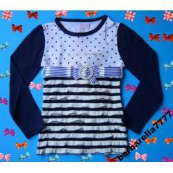 PRINCESS  bluzka,tunika w falbanki 98-104(4L)NOWA