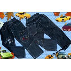 Spodnie bojówki jeans z PORSCHE 98(3L)