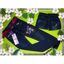 MYSZKA MINNIE MOUSE spodnie jeans,cekiny110(6l)
