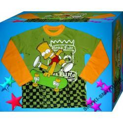 SIMPSONOWIE bluzka baweł128(8l)NOWOŚĆ 2012