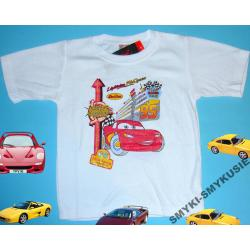 CARS AUTA koszulka,bluzka dla Chłopca 110CM(5l)