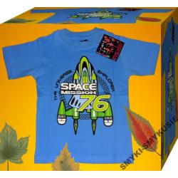 SPACE MISSION koszulka 104cm(4l)WIOSNA LATO