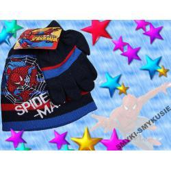 SPIDERMAN czapka+szalik na WIOSNĘ 54-56LICENCJA