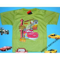 CARS AUTA koszulka dla Chłopca 98CM(3l)ZIELEŃ