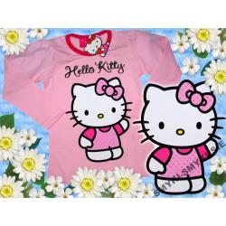 HELLO KITTY bluzka bawełna 122(7l)LICENCJA