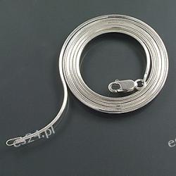 Łańcuch srebrny la55
