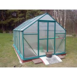 Szklarnia aluminiowa 8,7 m2
