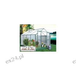 zielona  alu-pc 6mm szklarnia ogrodowa