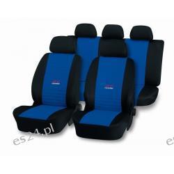 Pokrowce uniwersalne GT - Turbo  Niebieskie