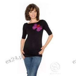 Bluzka ciążowa - Gaya - czarny