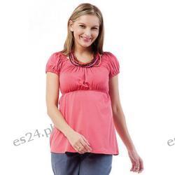 Bluzka ciążowa - Carmen - koral