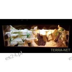 Terrarium pustynne 110x40x40 z wyposażeniem