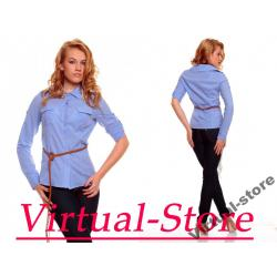 Virtual-Store Koszula Cristal jasny niebieski  S