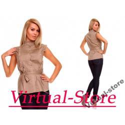 Virtual-Store Bluzeczka Cristal jasny brąz S