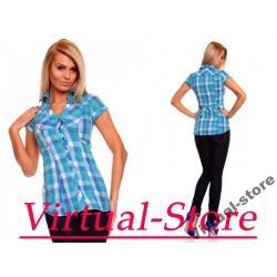 Koszulka Sublevel niebiesko-biały M HIT ! ! !