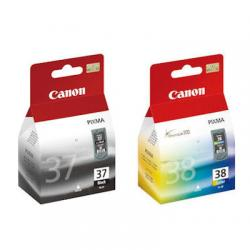 CANON PG37 + Cl38 iP1800 iP1900 iP2500 iP2600 MP14