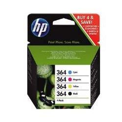 4x HP 364XL C5370 C5380 C5388 C6324 C6380 C6383
