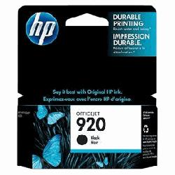 Tusz HP 920 czarny Officejet 6000 6500 7000 7500a