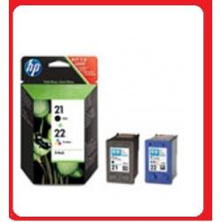 HP 21 + 22 DESKJET F4180 F4190 D1360 D1460 D2230