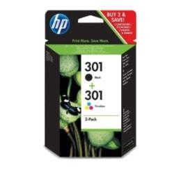 2x HP 301 HP301 DESKJET 1000 3000 1050 2050 3050