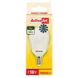 Activejet Świetlówka ENERGOOSZCZĘDNA E14 7W = 30W