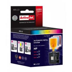 ActiveJet Automatic System HP 22 28 57 XL 24ml