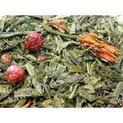 Sencha Czerwony Smok-zielona z dodatkami Kawy ziarniste