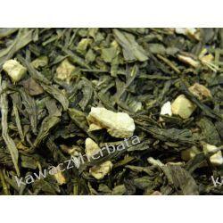 Sencha Pigwa Imbir-zielona z dodatkami Zielone