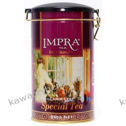 IMPRA Specjal czarna liściasta puszka 250g Czekolady