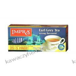 IMPRA earl grey czarna koperta exp.30 sztuk Zaparzacze i kawiarki