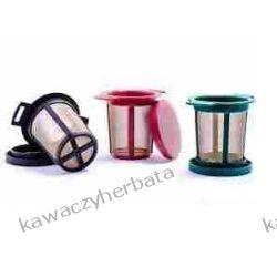 TEELI filtr do herbaty L czerwony Zaparzacze i kawiarki