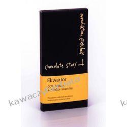 Czekolada EKWADOR CRU 60% MLEKO I WANILIA 50 gram