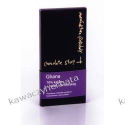 Czekolada GHANA KWIAT SOLI MORSKIEJ 70% kakao 50 gram Słodycze i przekąski