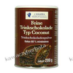Czekolada do picia Camarra o smaku kokosowym 200gram Pozostałe
