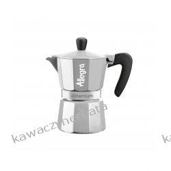 BIALETTI ALLEGRA srebrna kawiarka aluminiowa Zaparzacze i kawiarki