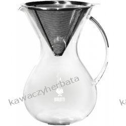 BIALETTI POUR OVER VETRO szklany Zaparzacze i kawiarki